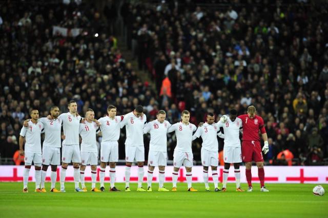Inglaterra divulga lista com 30 jogadores para amistoso antes da Copa AFP PHOTO / GLYN KIRK/AFP