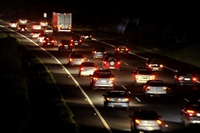 Mais de 57 mil veículos utilizaram a freeway em direção ao Litoral Norte na sexta-feira LAURO ALVES/Agencia RBS