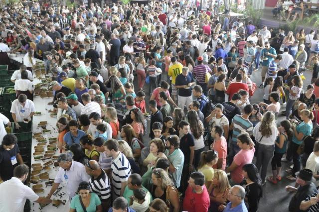 37 mil pessoas já passaram pelos pavilhões da Festa da Uva, neste domingo, em Caxias do Sul Gabriel Lain/Especial