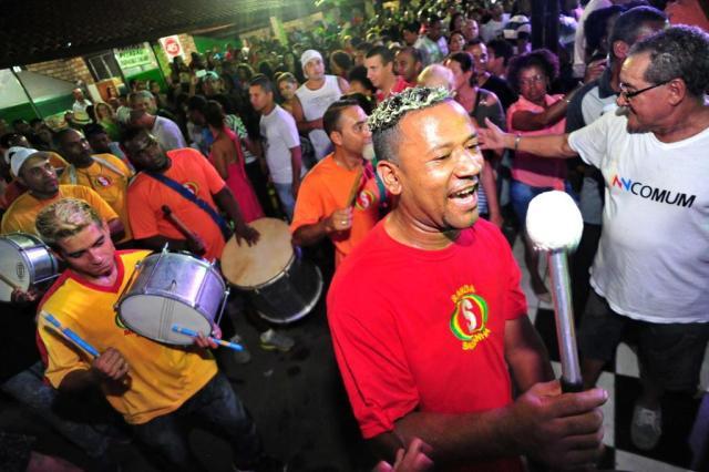 Banda da Saldanha anima o Carnaval de rua do Rio de Janeiro nesta terça-feira Carlos Macedo/Agencia RBS