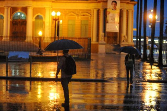 Terça-feira de chuva e sol entre nuvens no Estado Diogo Zanatta/Especial