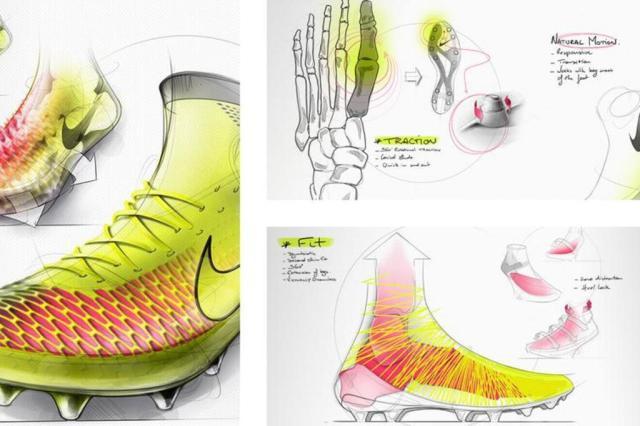 Lançamento de novas chuteiras mostra a inovação no futebol Reprodução/Nike