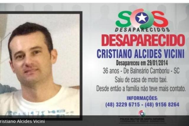 Filho do prefeito de Santa Rosa segue com paradeiro desconhecido Reprodução/SOS Desaparecidos
