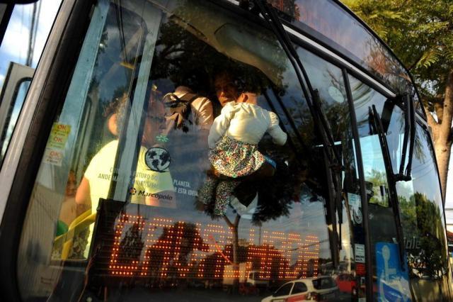 Com reforço policial, Justiça determina liberação de garagens de ônibus da Capital Diogo Zanatta/Especial