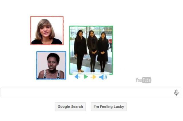 Isadora Faber aparece em google doodle em homenagem ao Dia Internacional da Mulher Google/Reprodução