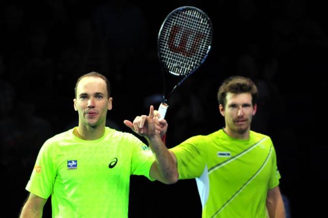 Bruno Soares e Alexander Peya eliminam Andy Murray e Jonathan Marray em Indian Wells glyn kirk/AFP