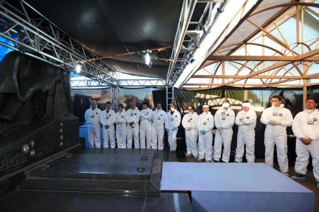 Análise dos restos mortais de Jango será realizada na Europa Diego Vara/Agencia RBS