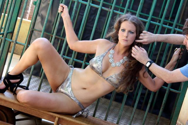 Tulio Milman: Ana Paula Maciel vai posar nua para Playboy André Sanseverino/Divulgação/Playboy
