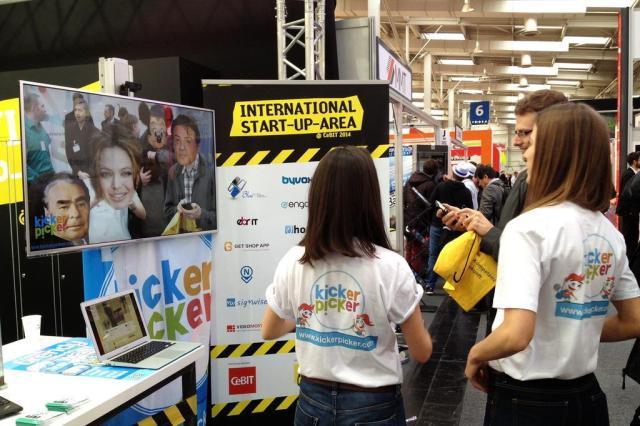 Startup utiliza a popularidade das selfies para fazer negócio na Cebit  Cadu Caldas/Agência RBS