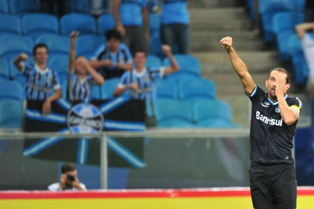 "Wianey Carlet: ""Barcos só marcou gols no 'engana-bobo'"" Diego Vara/Agencia RBS"