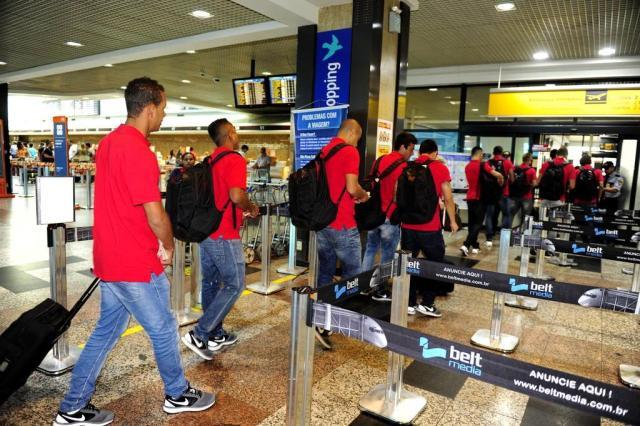Inter chega a Belém e tem treinamento marcado para a tarde Félix Zucco/Agencia RBS