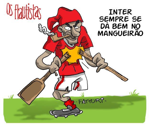 Os Flautistas: Inter e a boa fase no Mangueirão Diogo Fatturi/