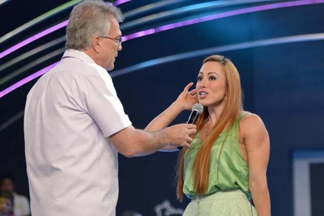 """""""Eu fui uma idiota"""", diz Aline sobre piada com a boate Kiss feita em rede nacional GShow.com/Divulgação"""