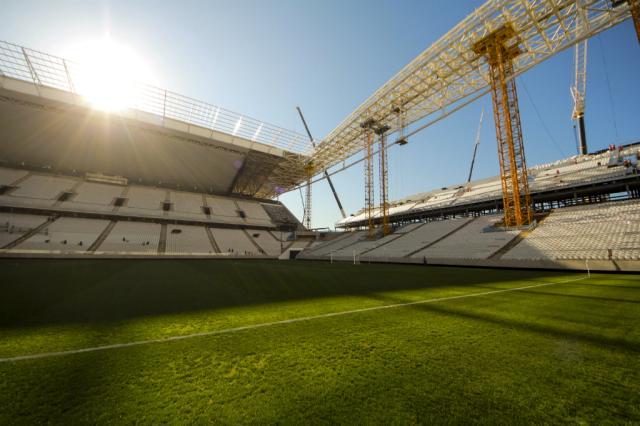 Interdição na Arena Corinthians põe em risco abertura da Copa Divulgação/Portal da Copa