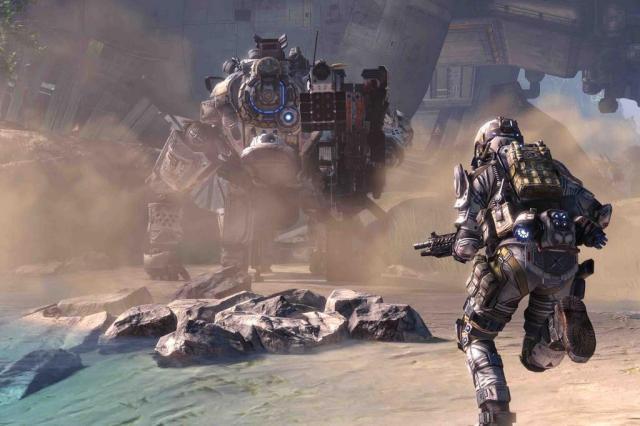 """André Pase: """"Titanfall"""" dá novo fôlego aos jogos de tiro em primeira pessoa Titanfall,EA/Divulgação"""