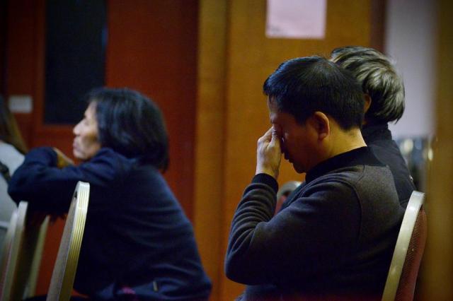 Pequim descarta envolvimento de chineses no desaparecimento de avião na Ásia WANG ZHAO/AFP