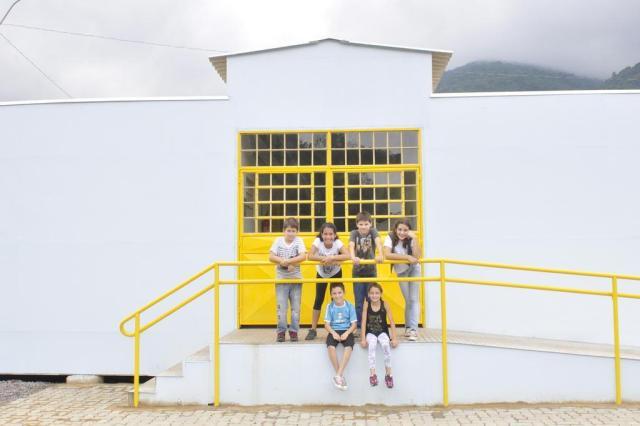 Aulas na nova Escola Dr. Renato Del Mese, em Caxias do Sul, começam na próxima semana Gabriel Lain/Especial