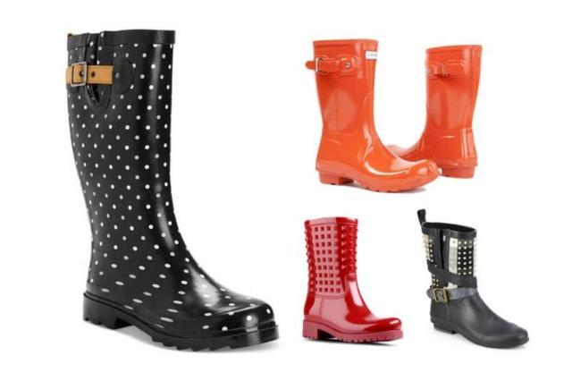 Semana de chuva: como montar looks incríveis com galochas Polyvore/Reprodução