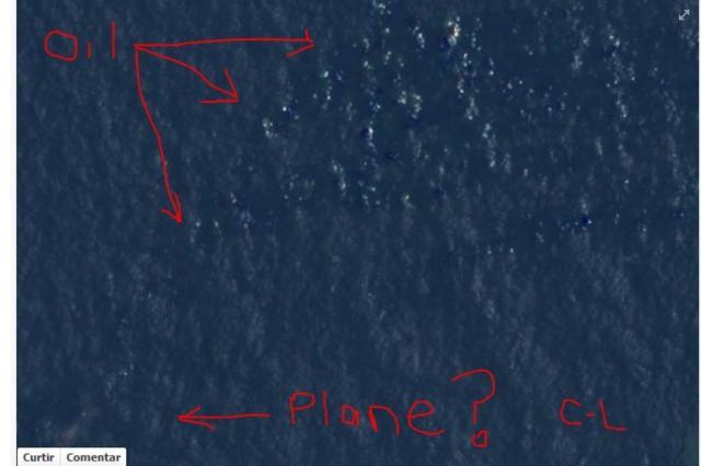 Courtney Love acredita ter encontrado vestígios do avião desaparecido Reprodução/Reprodução