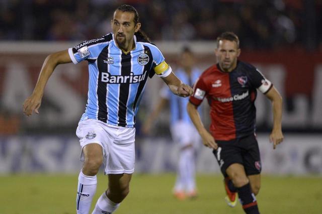 Em quarto na classificação geral, Grêmio enfrentaria o Unión Española nas oitavas Juan Mabromata/AFP