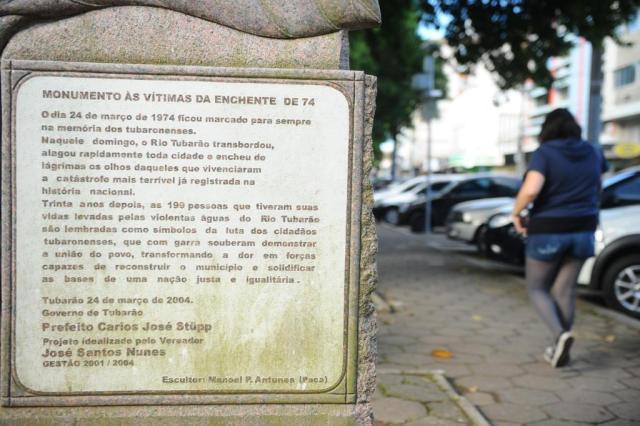 Dados extraviados impedem identificação das vidas que se perderam em Tubarão  Caio Marcelo/Agencia RBS