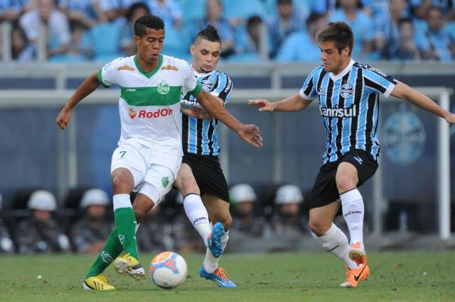 Juventude leva goleada do Grêmio de Barcos na Arena e está fora do Gauchão Diego Vara/Agencia RBS
