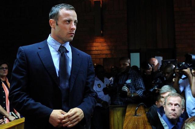 Reeva afirmou ter medo de Pistorius três semanas antes de sua morte Alexander Joe/AFP