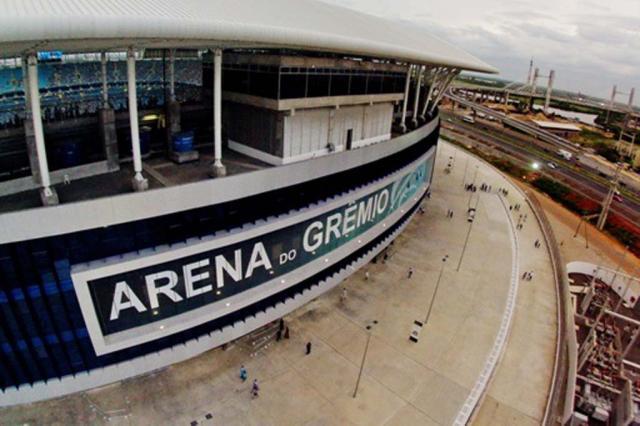 Arena abrirá três rampas a torcedores do Grêmio na decisão contra o Brasil-Pel Bruno Alencastro/