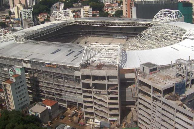 Novo estádio do Palmeiras já tem desenho das cadeiras definido Allianz Parque/Divulgação/