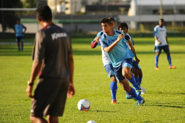 Caxias pode contar com retorno de Lucão para semifinal contra o Inter Diogo Sallaberry/Agencia RBS