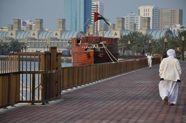Em Sharjah, nos Emirados Árabes, o charme é cultural Pablo Augusto Relly/Arquivo Pessoal