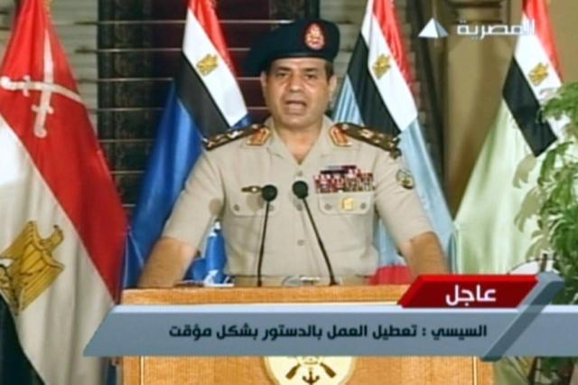 Ministro da Defesa egípcio anuncia renúncia, projetando candidatura presidencial EGYPTIAN TV/AFP