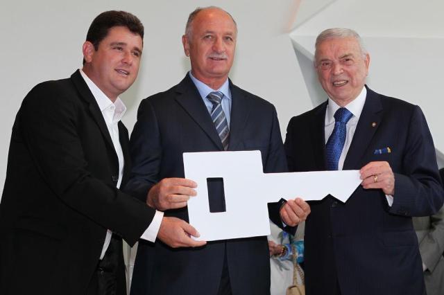 Casa da Seleção, Granja Comary é reinaugurada com a presença de Felipão Rafael Ribeiro/CBF