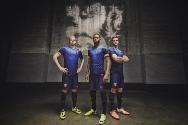 Nike lança segundo uniforme oficial da seleção holandesa Nike/Divulgação/Reprodução/Nike