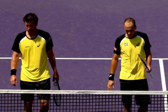 Bruno Soares e Alexander Peya são eliminados do Masters 1000 de Miami Matthew Stockman/Getty Images/AFP