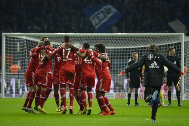 Laureus coroa o Bayern de Munique como a equipe do ano de 2013 ODD ANDERSEN/AFP