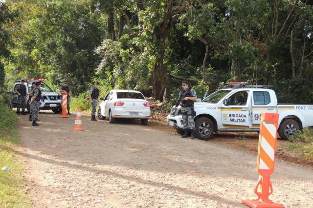 Segundo dia de buscas a sequestradores de menino de Campina das Missões mobiliza polícias no Noroeste Brigada Militar/Divulgação