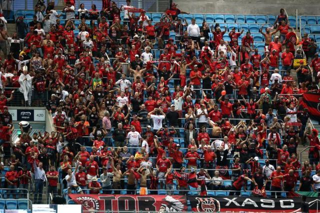 Torcedores do Brasil-Pel destruíram cerca de 50 cadeiras na Arena Jefferson Botega/Agencia RBS