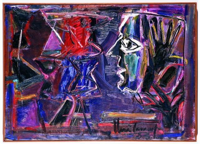 Exposição celebra pinturas e desenhos de Iberê Camargo nos anos 1980 Daniel Mansur/Divulgação