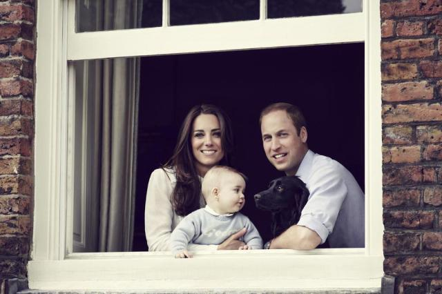 Jornais britânicos publicam foto do príncipe George no Dia das Mães Jason Bell/CAMERA PRESS / KENSINGTON PALACE