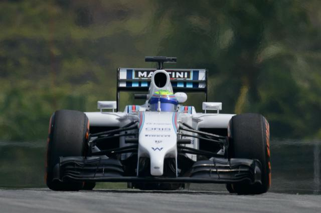 Massa leva bronca da Williams por desrespeitar ordens na Malásia ED JONES / AFP/