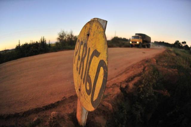 Joana Colussi: buracos mais fundos no caminho da safra gaúcha Tadeu Vilani/Agencia RBS