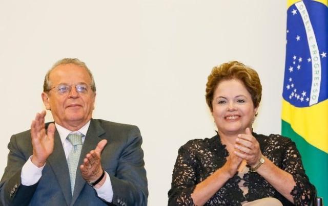 Dilma assina contrato da nova ponte do Guaíba e promete início das obras em junho Roberto Stuckert Filho/Divulgação