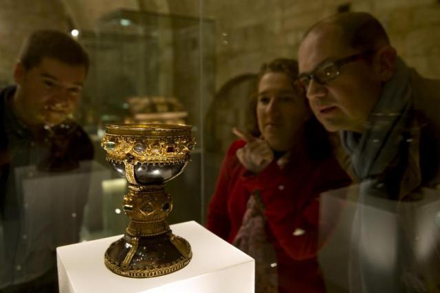 Historiadores espanhóis afirmam ter encontrado o Santo Graal CESAR MANSO/AFP