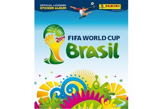 Álbum de figurinhas da Copa é lançado e vendas começam no dia 8 de abril Reprodução/