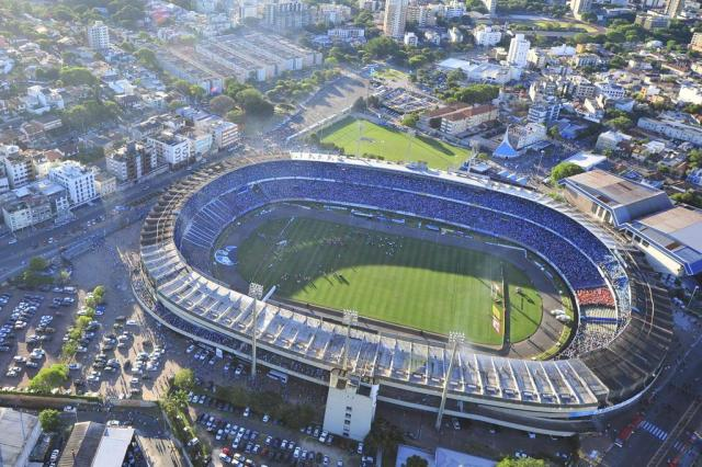 Novo CT do Grêmio é cortado e Estádio Olímpico será campo de treinamento para a Copa em Porto Alegre Lauro Alves/Agencia RBS