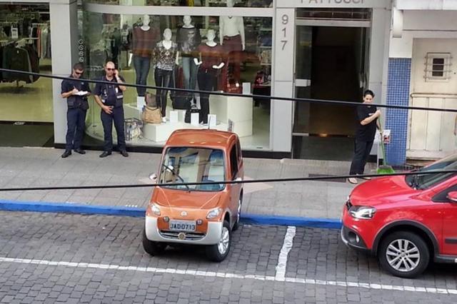 """""""Não podemos abrir exceção"""", justifica coordenador de trânsito de Lajeado sobre multa a criador de carro elétrico Guilherme Giannoulakis/Divulgação"""