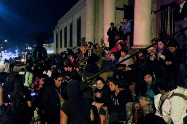 Terremoto deixa cinco mortos no Chile e alerta de tsunami é suspenso Francesco Degasperi/AFP