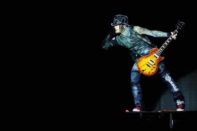 """""""O Axl é um cara muito engraçado"""", diz o guitarrista do Guns N'Roses, DJ Ashba Félix Zucco/Agencia RBS"""