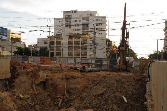 Previsão de conclusão da obra na Trincheira da Anita Garibaldi, em Porto Alegre, fica para setembro Bruna Vargas/Agencia RBS